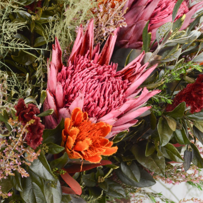 long life protea boquet